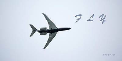 Jets Photograph - Test Fly by Betsy Knapp