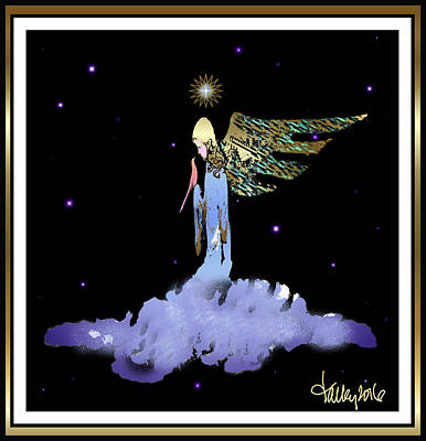 Heavenly Visit Art Print