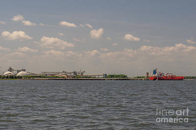 Photograph - Cooper River Industry by Dale Powell