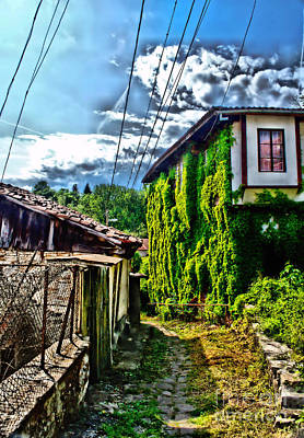 Photograph - Veliko Tarnovo House  by Matthew Naiden
