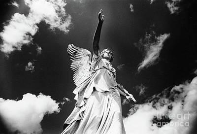 Photograph - Angel, Powerscourt, County Wicklow, Ireland  by Simon Marsden