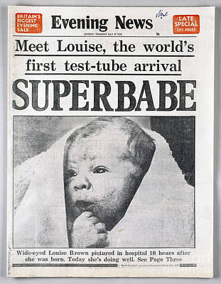 Photograph - Test-tube Baby, 1978 by Granger
