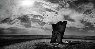 Photograph - Teter Rock Hill Top View by Brian Duram