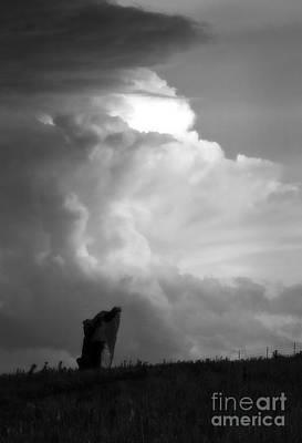 Teterville Thunderstorm Art Print by Fred Lassmann
