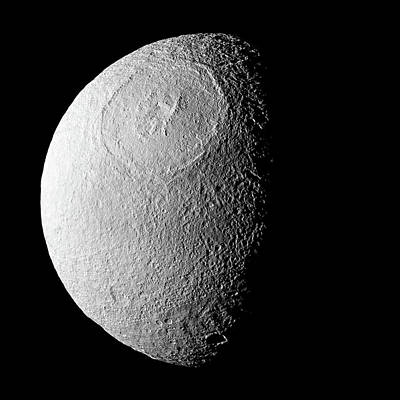 Photograph - Tethys Enhanced by Weston Westmoreland