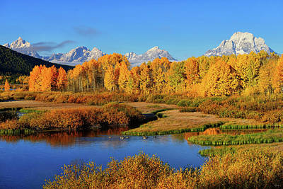 Photograph - Teton Autumn 2016 by Greg Norrell