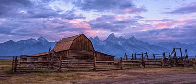 Photograph - Teton Awakening by Morris McClung