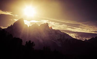 Photograph - Teton Awakenings by Dan Sproul