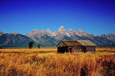Photograph - Teton Barn by Norman Hall