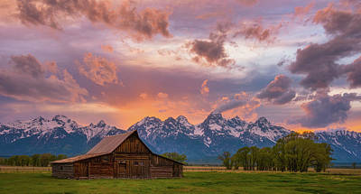 Photograph - Teton Blaze by Darren White