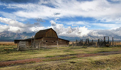 Photograph - Teton Cloud Covered by David Armstrong