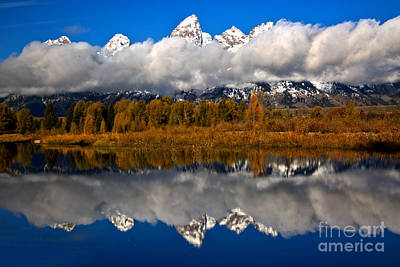 Photograph - Teton Cloud Swarm by Adam Jewell