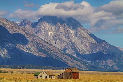 Photograph - Teton Country Landscape by James BO Insogna