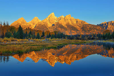 Photograph - Teton Dawn by Greg Norrell