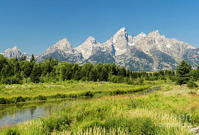 Photograph - Teton Frontier by Tim Mulina
