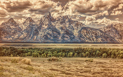Photograph - Teton Grandeur by John M Bailey