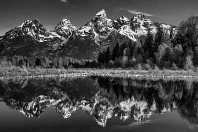 Photograph - Teton Mono by Darren  White