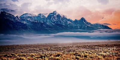Photograph - Teton Morning by Scott Kemper