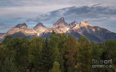Photograph - Teton Morning by Sharon Seaward