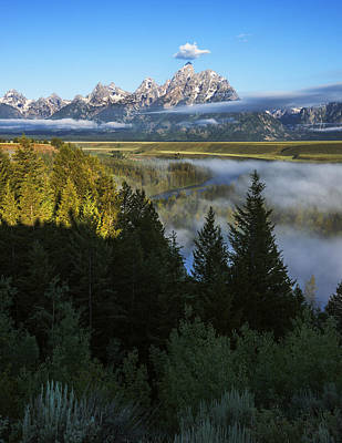Photograph - Teton Morning Snake River Overlook by Vishwanath Bhat