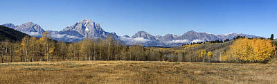 Photograph - Teton Panorama by Shirley Mitchell