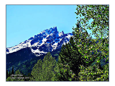 Photograph - Teton Picture Perfect by Joan  Minchak
