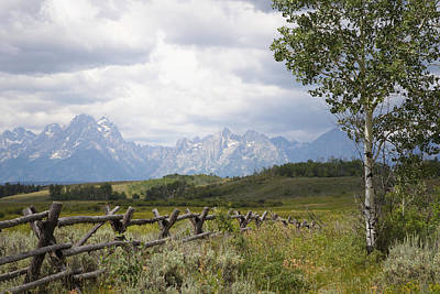 Teton Ranch Art Print