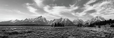 Teton Range Art Print
