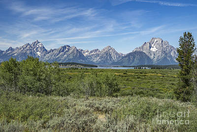 Photograph - Teton Range by Scott Wood