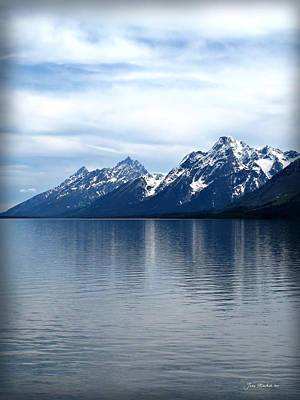 Photograph - Teton Reflection by Joan  Minchak