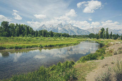 Photograph - Teton Reflections by Margaret Pitcher