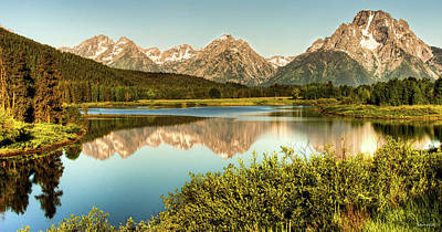 Photograph - Teton Reflections by Rebecca Hiatt