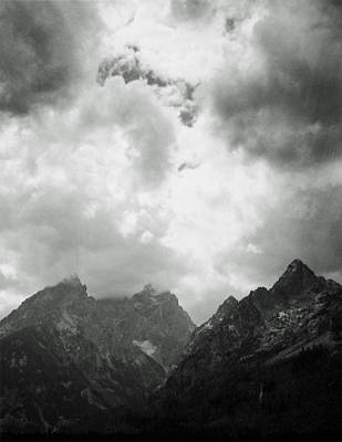 Art Print featuring the photograph Teton Sky by Allan McConnell