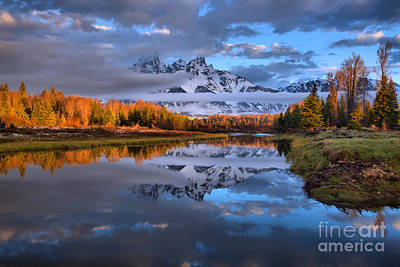 Photograph - Teton Spring Colors by Adam Jewell