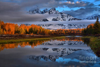 Photograph - Teton Spring Tranquility by Adam Jewell