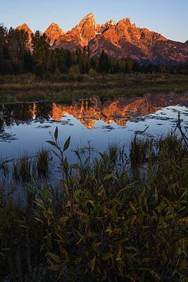 Photograph - Teton Sunrise At Schwabacher Landing Gtnp by Vishwanath Bhat