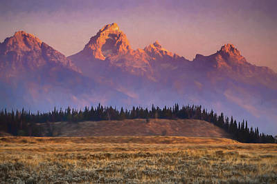 Photograph - Teton Sunrise by Michael Balen