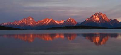 Teton Wall Art - Photograph - Teton Sunrise by Ryan Scholl