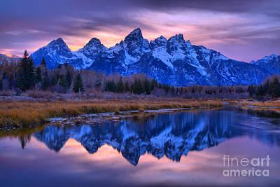 Photograph - Teton Sunset Pastels by Adam Jewell