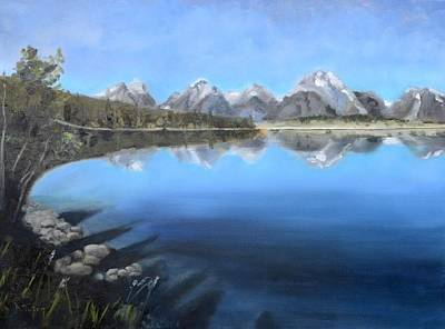 Painting - Teton Tranquility by Donna Tuten