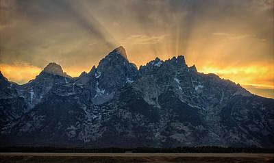Photograph - Teton Triumph by Morris McClung