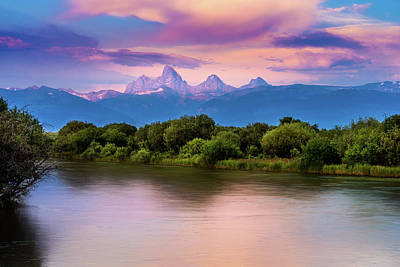 Photograph - Teton Valley Paradise  by TL  Mair