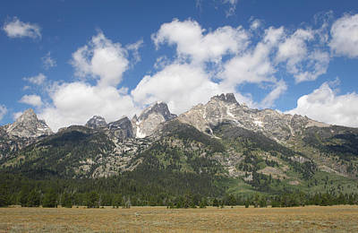 Photograph - Teton View by Diane Bohna