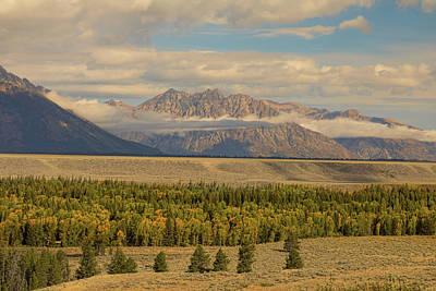 Photograph - Teton Views by James BO Insogna