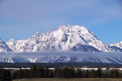Photograph - Teton Winter 4 by Marie Leslie