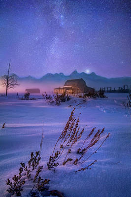 Photograph - Teton Winter Tranquility by Nicholas Parker