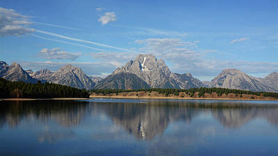 Photograph - Tetons And Jackson Lake by Whispering Peaks Photography