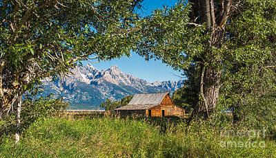 Photograph - Tetons And Moulton Barn by Sharon Seaward