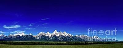 Word Signs - Tetons by D R