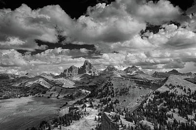 Photograph - Tetons From The West by Raymond Salani III
